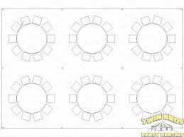 100 54 inch round table seats how many is inch round dining