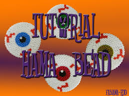 tutorial hama bead occhi spiritati per halloween spirited eyes