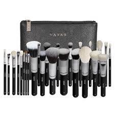 makeup artist equipment yavay 25pcs original pro luxury artist makeup brush set goat hair
