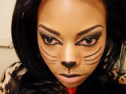 halloween costume u0026 makeup trial kitty cat youtube
