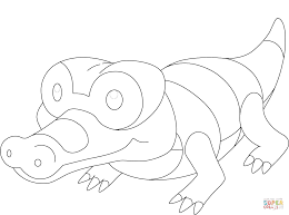 sandile pokemon coloring page free printable coloring pages