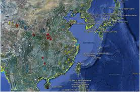 Google Map Types Implications Of China U0027s Ballistic Missiles For Korean National