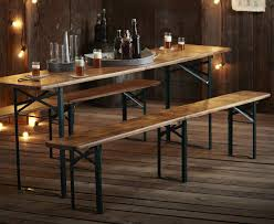 folding table with bench beautiful folding table and bench set with picnic table and bench