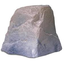 Fake Rocks For Gardens amazon com dekorra products boulder rock 27 inch by 21 inch by
