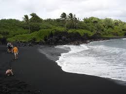 black sand beach hawaii pictures of the road to hana maui hawaii