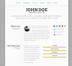 resume examples top 10 free html resume templates for your
