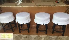 bar stool slipcovers ebay kitchen chair cushions with ties bar