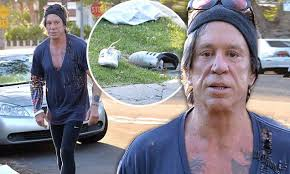 Mickey Rourke News Newslocker - mickey rourke ahas gruelling boxing session with manny pacquiao