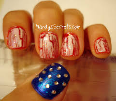 easy 4th of july nail art u2013 slybury com