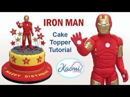 iron cake topper how to make iron cake topper cómo hacer a iron para