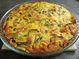 cuisine legere clafoutis courgettes jambon olives le de chefdidier