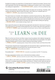 learn or die using science to build a leading edge learning