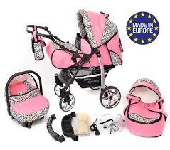 siège auto pour nouveau né baby sportive landau pour bébé avec roues pivotables siège auto