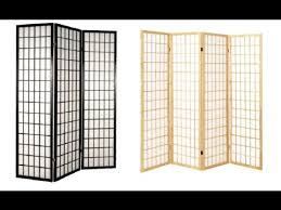 Folding Room Divider by Ideas For Folding Room Dividers Youtube