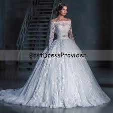 cute off the shoulder ball gown wedding dresses wedding