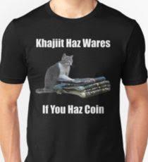 Khajiit Meme - khajiit gifts merchandise redbubble