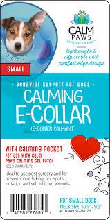 calming collar calm paws calming dog e collar small chewy com