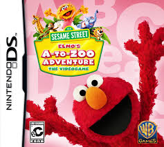 sesame street elmo u0027s zoo adventure ds game
