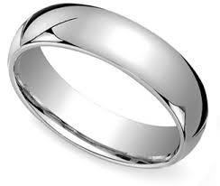 mens wedding rings white gold comfort fit men s wedding ring in white gold 6mm eawedding