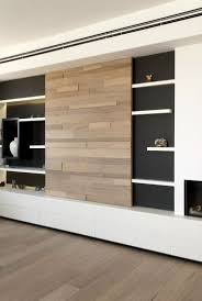 modular tv unit design with backpanel modern living room by bonito