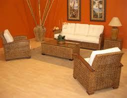 wicker rattan living room furniture modern house design