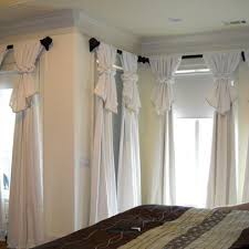 Curtain Draping Ideas Best 25 Curtain Ideas Ideas On Pinterest Window Treatments Near