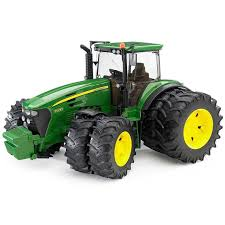 bruder toys bruder toys john deere 7930 tractor with double wheels 09808 new