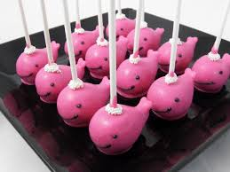 pink whale cake pops by www chicagocakepops com chicago cakepops