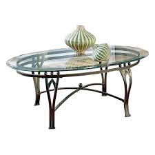 Oval Glass Top Coffee Table Square Glass Top Coffee Table With Metal Base Furniture Vintage