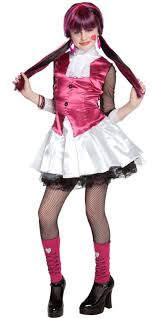 Vampire Halloween Costumes Kids Girls Monster Draculaura Costume Girls Halloween Kids
