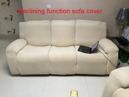 Sure Fit Dual Reclining Sofa Slipcover Furnitures Reclining Sofa Slipcover How To Find Best