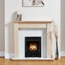 focal point blenheim black inset gas fire suite departments