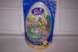 littlest pet shop easter eggs littlest pet shop cuddliest nib easter egg 602 603 604