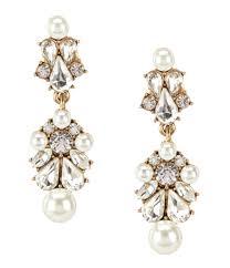pearl chandelier earrings accessories jewelry bridal jewelry earrings dillards