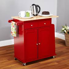 red kitchen cart island kitchen islands decoration the stetson microwave cart hayneedle
