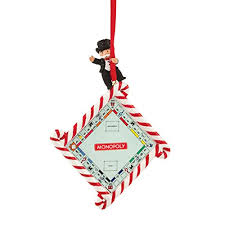 department 56 hasbro monopoly game board ornament christmas