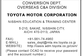 toyota account how many manufacturers used the toyota general discussion