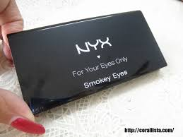 nyx 10 color eye shadow palette smokey eyes photos and swatches