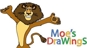madagascar alex dreamworks animation how to draw and coloring fun