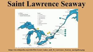 St Lawrence River Map Saint Lawrence Seaway Youtube