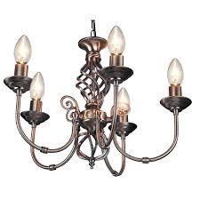 brushed brass light fixtures zanzibar classic 5 light antique brass ceiling lights multi arm