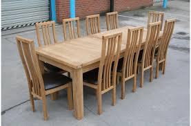 12 Seater Oak Dining Table 12 Seater Dining Table Inspiration Decor Bordeaux Oak Large