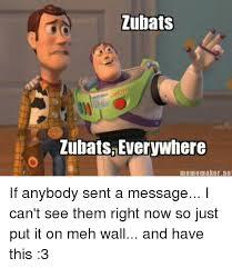 Everywhere Meme - zubats lubatsb everywhere meme maker ne if anybody sent a message i