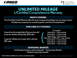 lexus factory warranty coverage 2017 used lexus ct ct 200h fwd at longo lexus serving el monte ca
