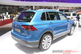 volkswagen tiguan black 2016 new vw tiguan suv india launch price inr 27 68 lakh