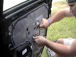 2003 cadillac cts window regulator how to remove window regulator from right rear door cadillac cts