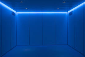 relaxing blue relaxing led lighting for mr rooms imedco of switzerland