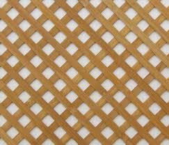 wooden lattice grille panel or radiator trellis in the eu