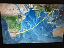 Cathay Pacific Route Map by Cathay Pacific Business Class Review Jnb Hkg Hnd Monkey Miles