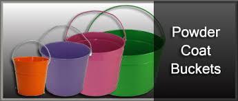 wholesale easter buckets powder coat buckets